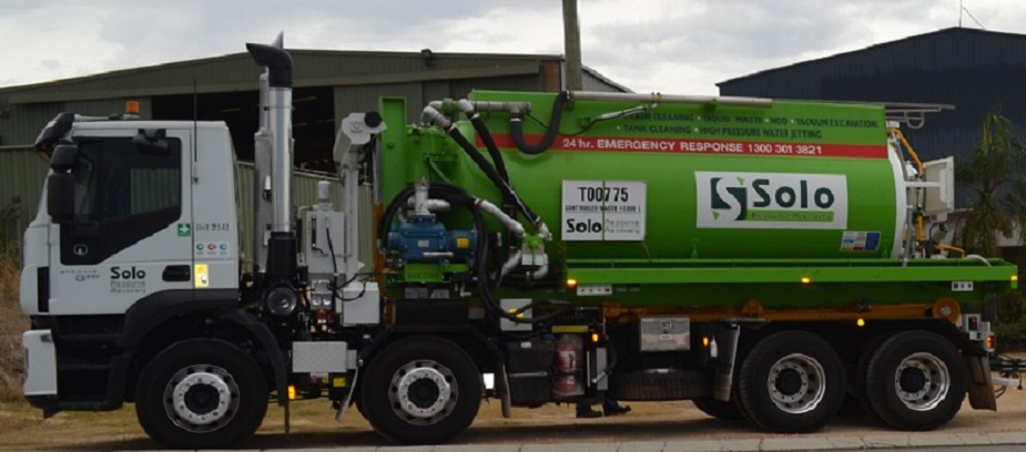 Solo Resource Recovery's IVECO Stralis model